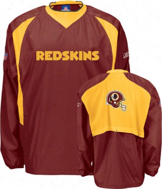 Washington Redskins 2006 Authentic Nfl Coaches Hot Jacket