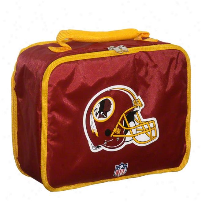 Washington Redskins Burgundy Lunch Box