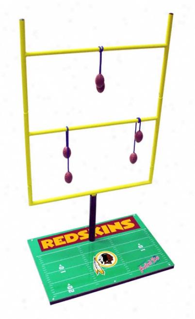 Washington Redskins Laddeer Golf Plan: Football Toss Set 2.0