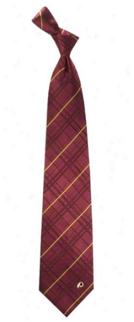 Washington Redskins Oxford Woven Silk Tie