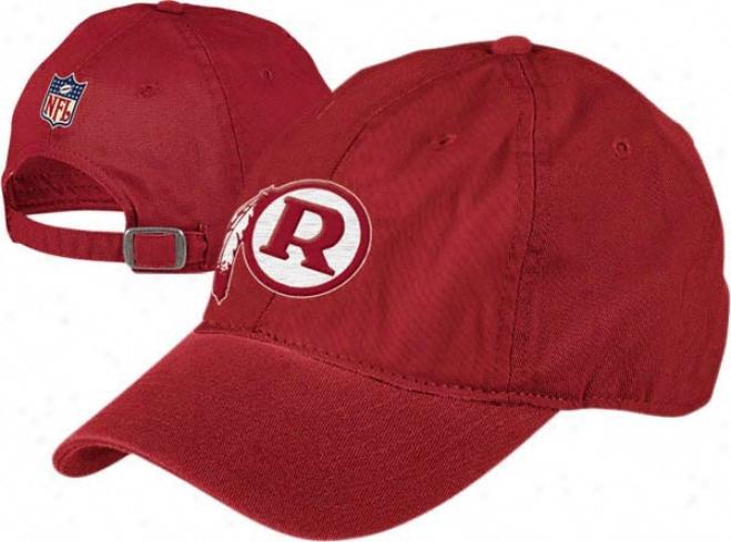 Washington Redskins Retro Bl Adjustable Strapback Hat
