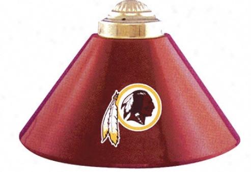 Washington Recskins Three 14&quot Shade Lamp