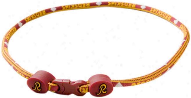 Washington Redskins Titanium Necklace