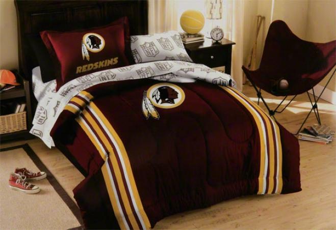 Washington Redskins Twin Comforter Set