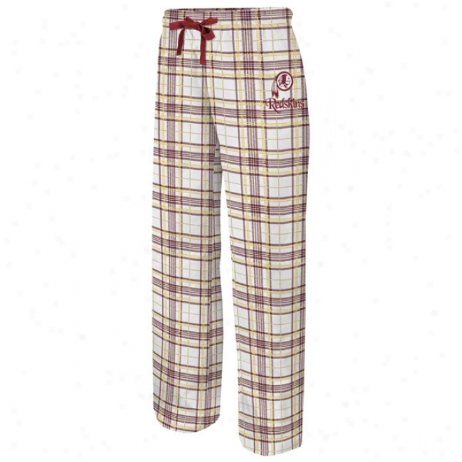 Washington Redskins Women's Monday Night Ii White Pants