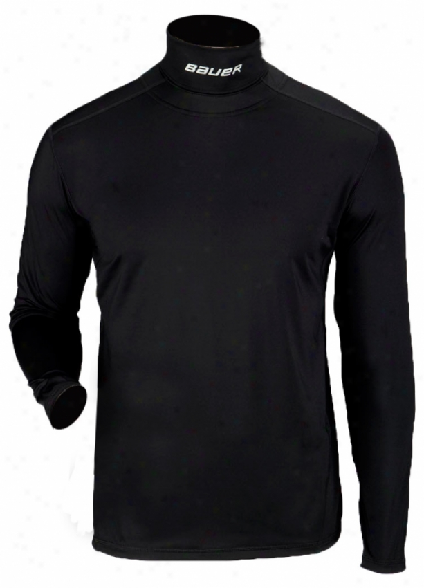 Bauer Core Youth Longsleeve Intdgrated Neck Top