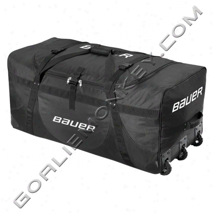 Bauer Jr. Deluxe Wheeled Goalie Equipment Sack