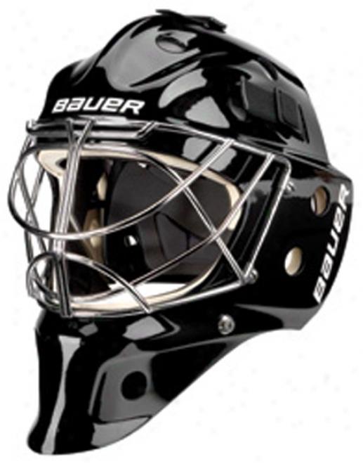 Bauer Nme 9 Pro Titanium Goalie Massk - Cat Eye