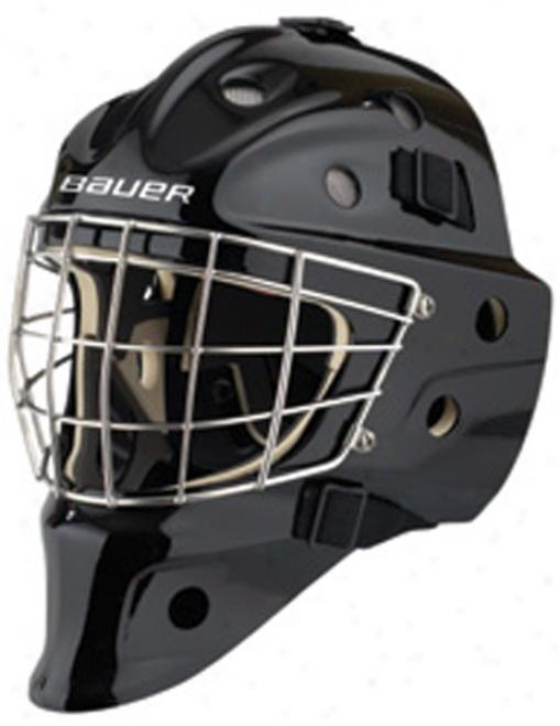 Bauer Nme 9 Pro Titanium Goaloe Mask - Certifieed