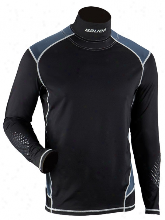 Bauer Premijm Youth Longsleeve Integrated Neck Top