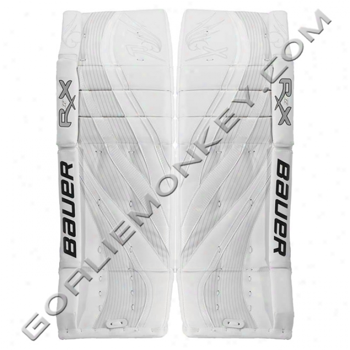 Bauer Re-flex Rx10 Le Pro Goalie Leg Pads