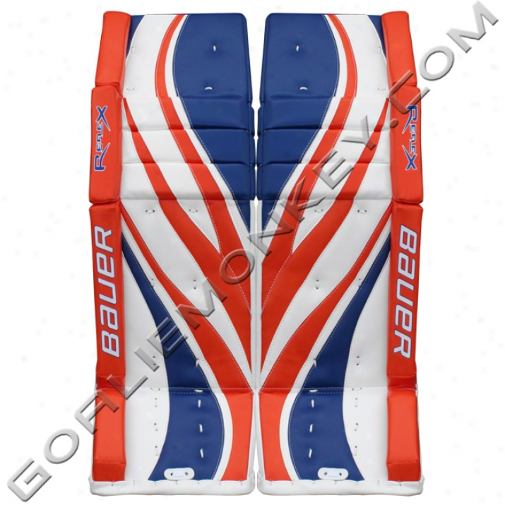 Bauer Re-flex Rx10 Monkey Special Edition Pro Leg Pads