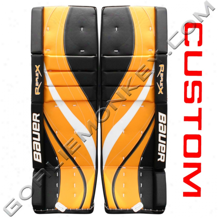 Bauer Re-flex Rx10 Pro 'custom' Goalie Leg Pads