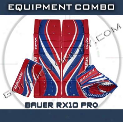 Bauer Re-flex Rx10 Pro Goalie Equipment Combo