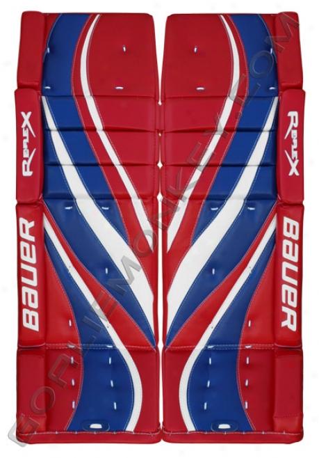 Bauer Re-flex Rx10 Pro Goalie Leg Pads