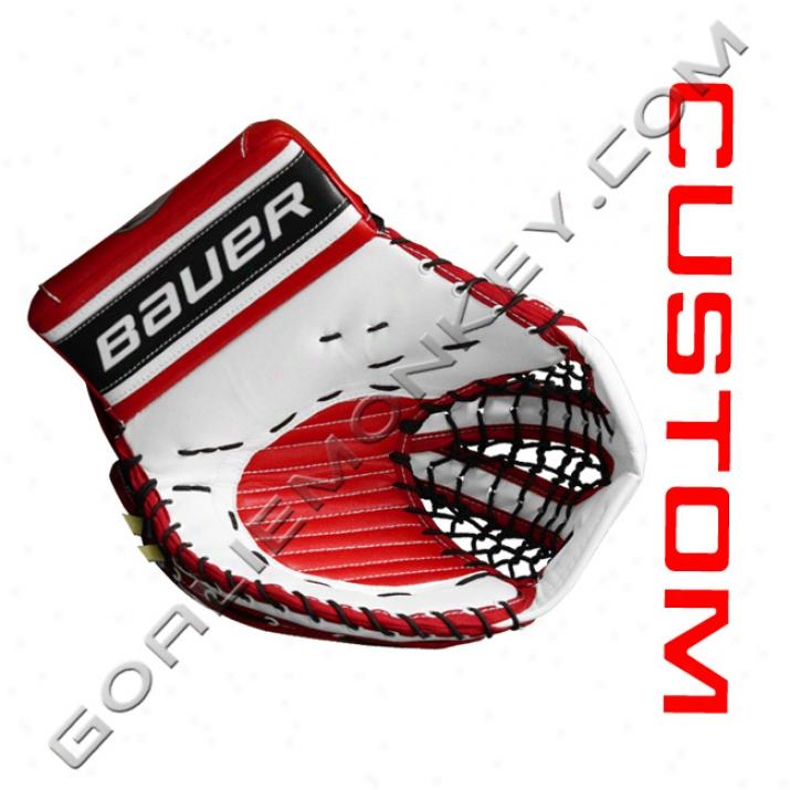 Bauer Re-flex Rx10 Vintage Pro 'custom' Goalie Glove