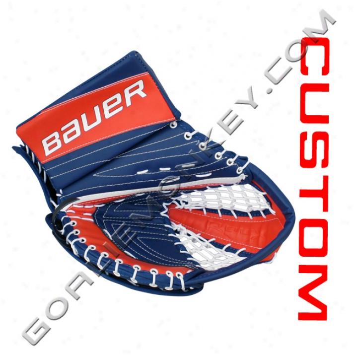 Bauer Re-flex Rx10 'x:60 Speec' Custom Pro Goalie Glove