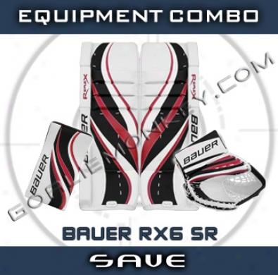 Bauer Re-flex R6x Sr. Goalie Equipment Combo