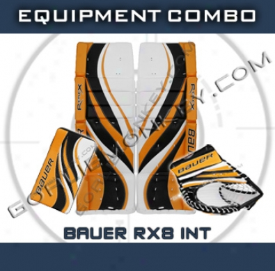 Bauer Re-flex Rx8 Int. Goalie Equipment Combo