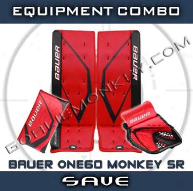 Bauer Supreme One60 Monkey Special Edition Sr. Gialie Equipment Combo