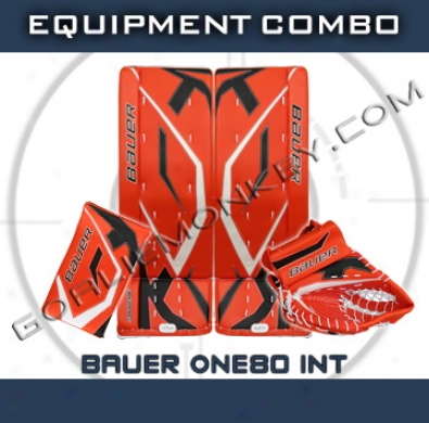 Bauer Supreme One80 Int. Goalie Equipment Combo