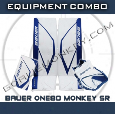 Bauer Supreme One80 Monkey Special Edition Sr. Goalie Equuipment Combo