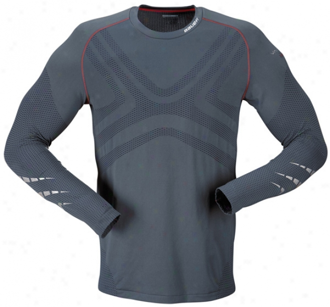 Bauer Vapor Elite Seamless Sr. Long Sleeve Top