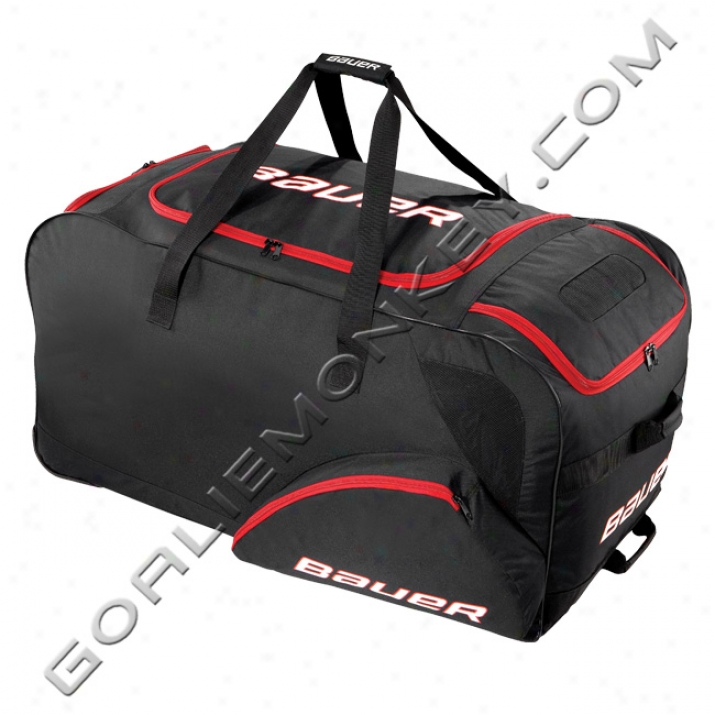 Bauer Wheeled Goalie Equipment Bag