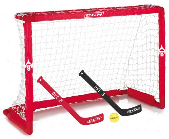 Ccm Ovechkin Mini Hockey Goal Set