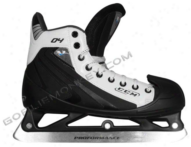 """ccm V04 """"special Edition"""" Jr. Goalie Skates"""