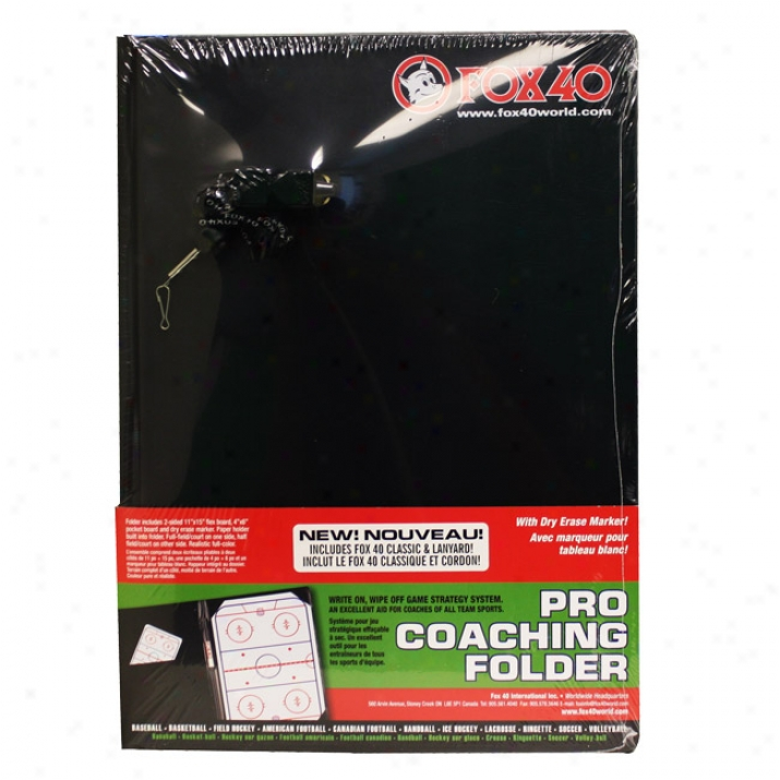 Fox 40 Pro Coaching Folder Kit