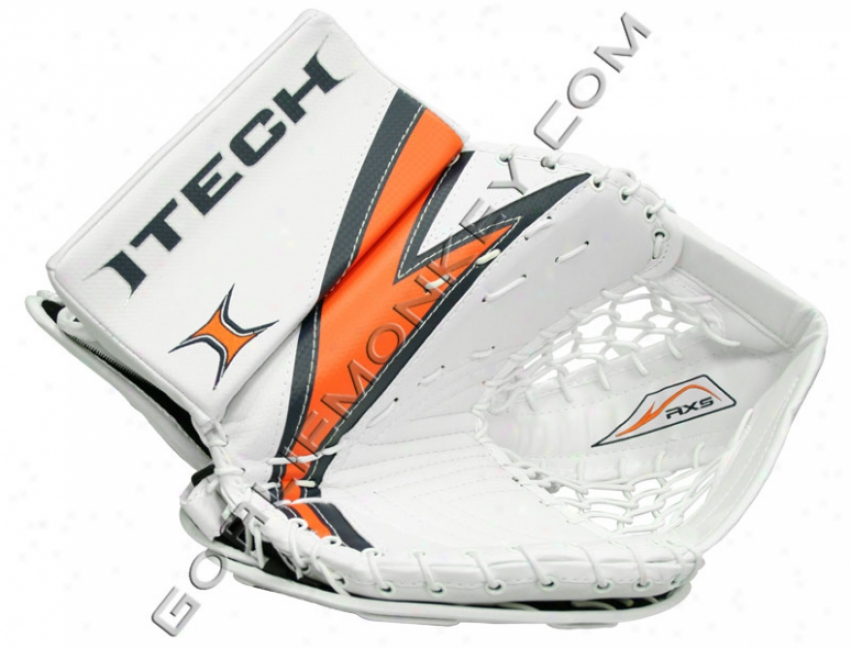 """itech Rr-flex Rx5 """"limited Edition"""" Jr. Goalie Glove"""