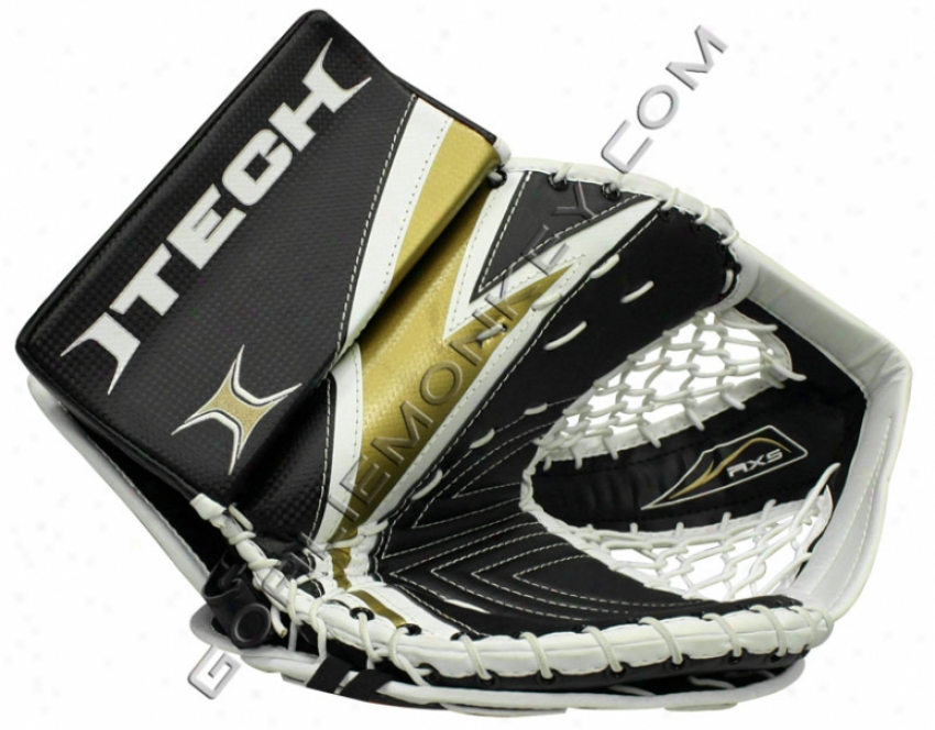 """itech Re-flex Rx5 """"special Edition"""" Sr. Goalie Glove"""