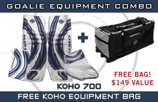 Koho 700 Sr. Pro Goalie Equipment Combo