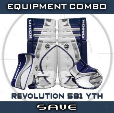 Koho Revolution 581 Yth. Goalie Equipment Combo