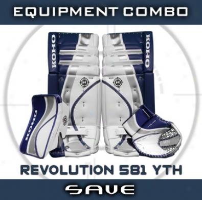 Koho Revolution 581 Yth. Goalie Equipment Combo