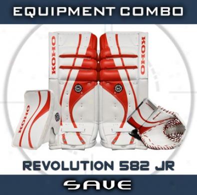 Koho Revolution 582 Jr. Goalie Equipment Combo