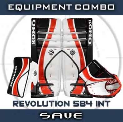 Koho Revolution 584 Int. Goalie Equipment Combo