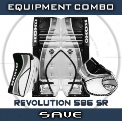 Koho Revolution 586 Sr. Goalie Equipment Combo