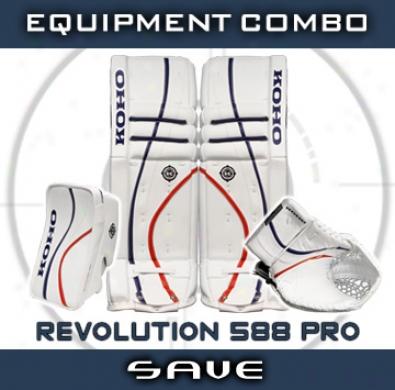 Koho Revolution 588 Pro Goalie Equipment Combo