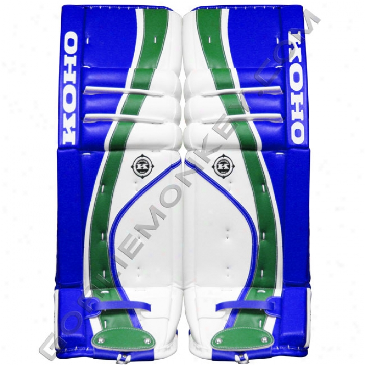 Koho Revolution 588 Rpm Custom Pro Goalie Leg Pads