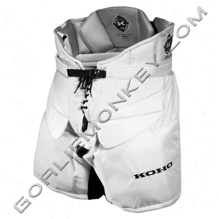 Koho Revolution Int. Goalie Pants - White
