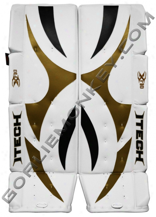 Made In Canada Itech X-rated Xr10 Pro Goalie Leg Pads