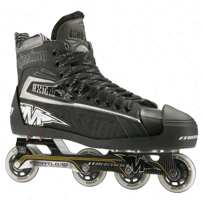 Mission Axiom G7 Sr. Inline Hockey Goalie Skates
