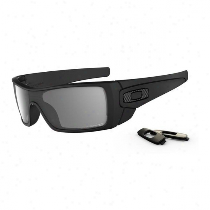 Oakley Batwolf Matte Black/grey Polarized