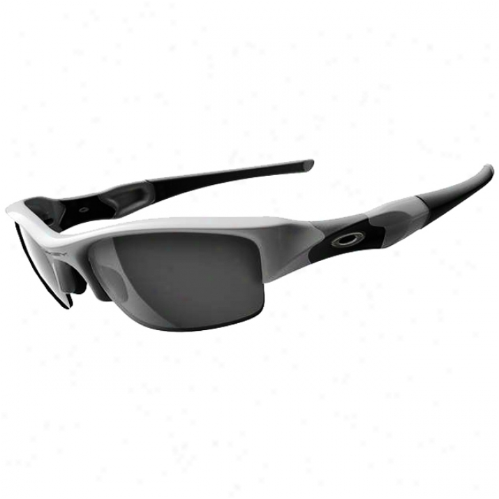 Oakley Flack Jacket Polished White/black Iridium