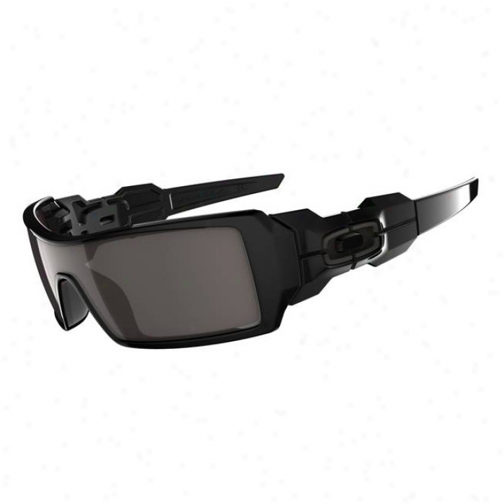 Oakley Oil Rig Polished Black/warm Grey