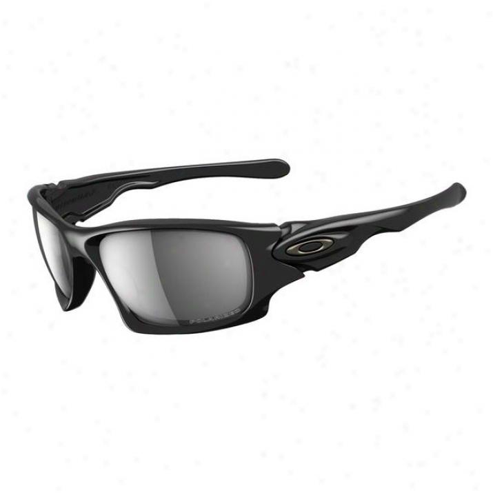 Oakley Ten Polished Black/black Iridium Polarizzed
