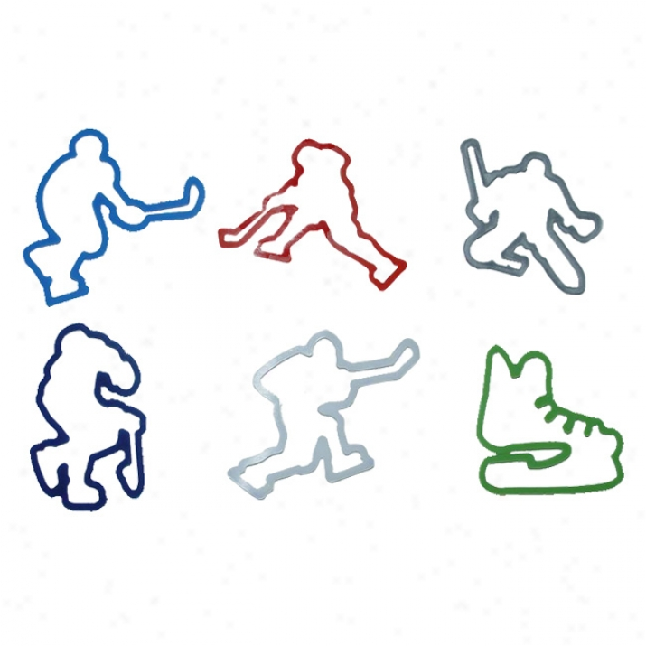 Silly Bandz Hockey rBacelets