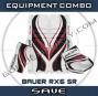 Bauwr Re-flex Rx6 Sr. Goalie Equipment Combo